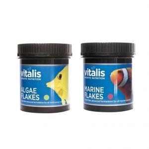 Vitalis Marine & Algae Flakes 30g Twin Bundle