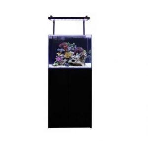Aqua One MiniReef 120 Aquarium and Cabinet (Black)