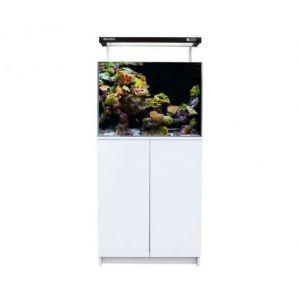 Aqua One MiniReef 120 Aquarium and Cabinet (White)