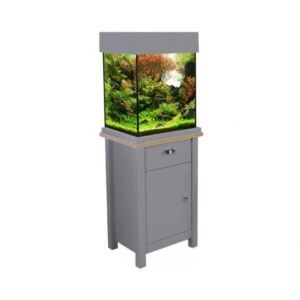 Aqua One OakStyle 85 Aquarium and Cabinet (Flint Grey)