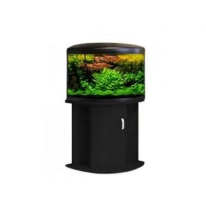 Aqua One UFO 550 Aquarium and Cabinet - Black