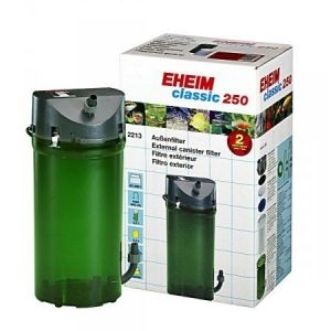 Eheim Classic 250 Filter with Taps & Media