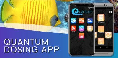 Quantum Aqua Dosing App for Apple and Android